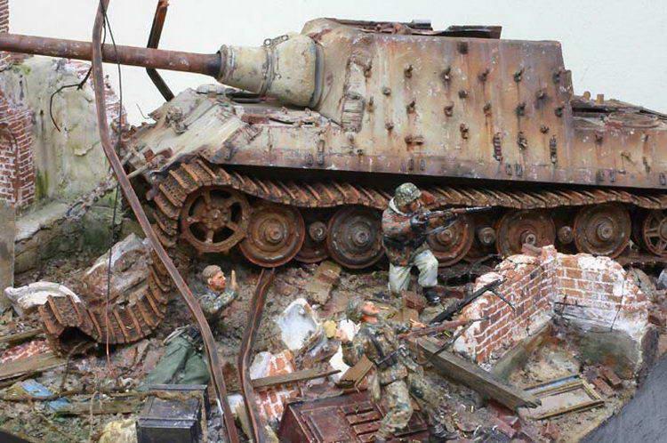 Военные диорамы своими руками моделирование