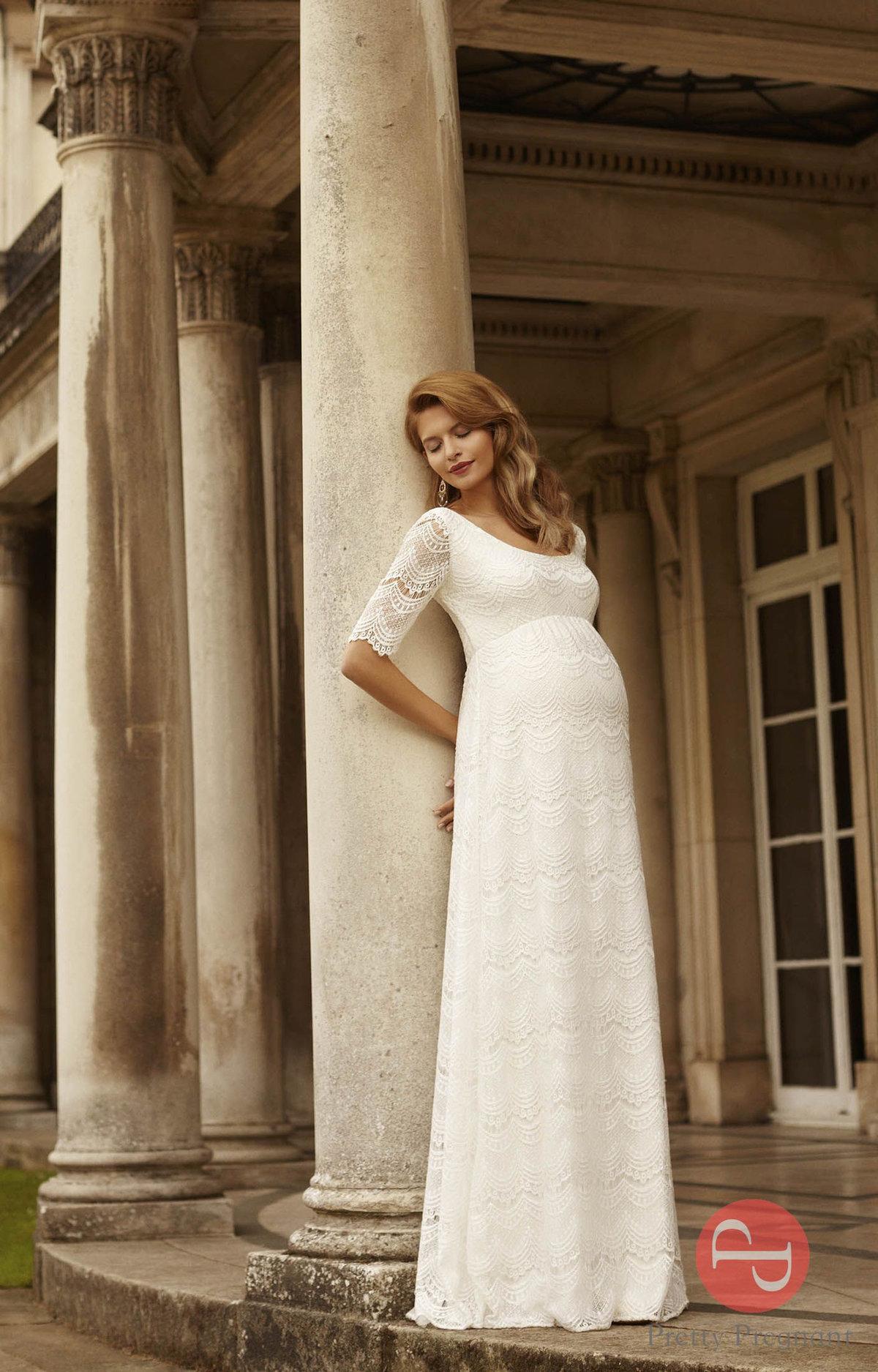 Свадебные платья для беременных 3 месяца