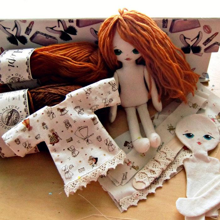 Картинки кукол из ткани