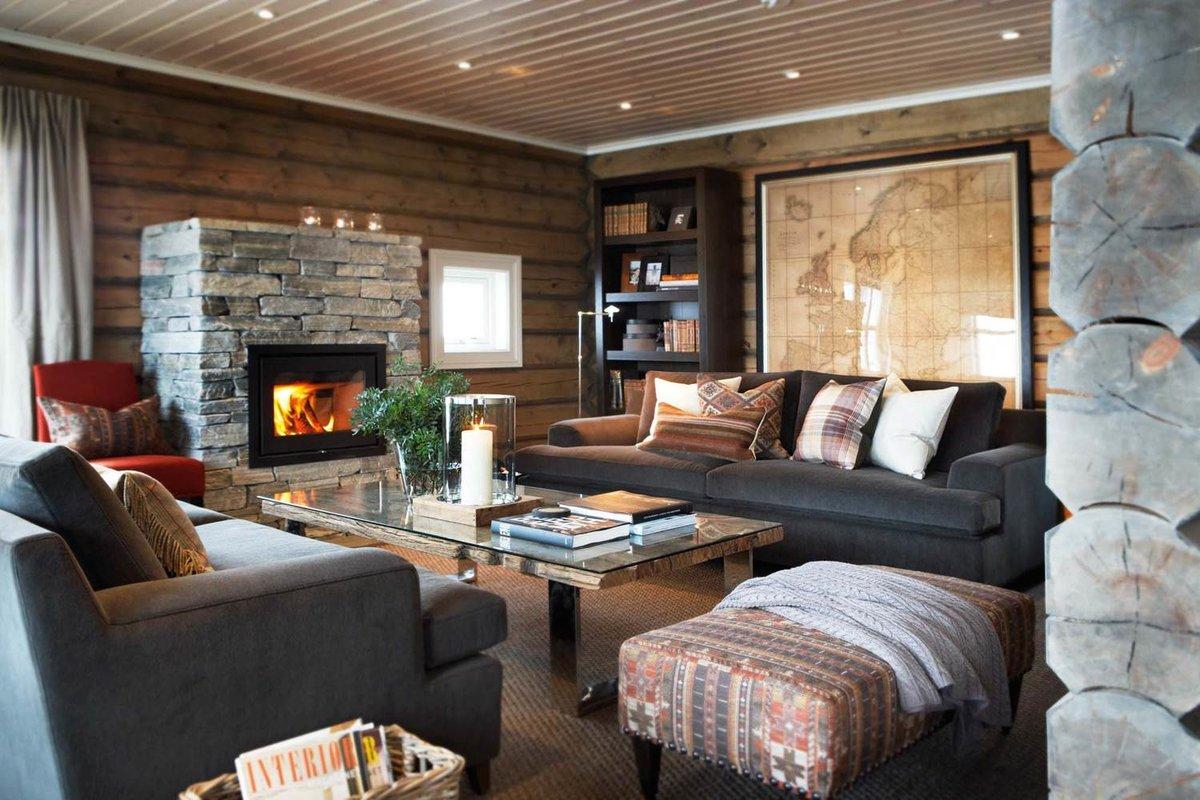 Дизайн интерьера в норвежском стиле