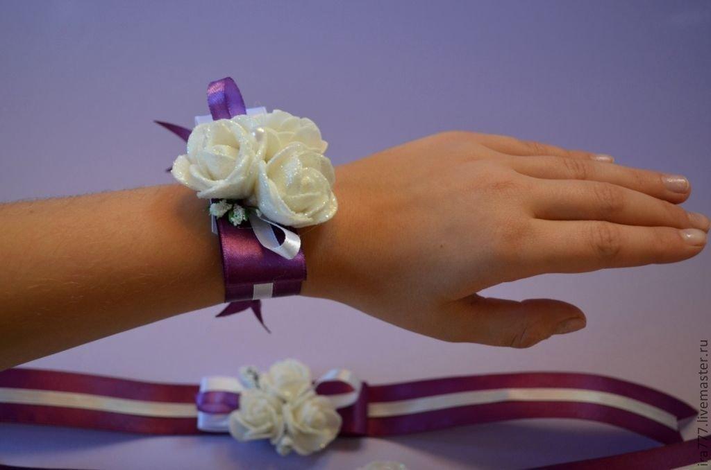 Что сделать на руку подружкам невесты своими руками 67