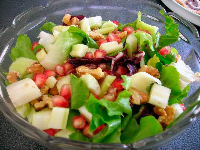 Салат с яблоками для похудения