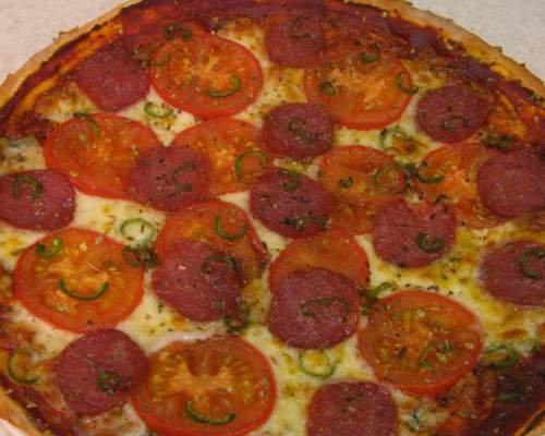 Пицца пепперони рецепт пошаговый рецепт с