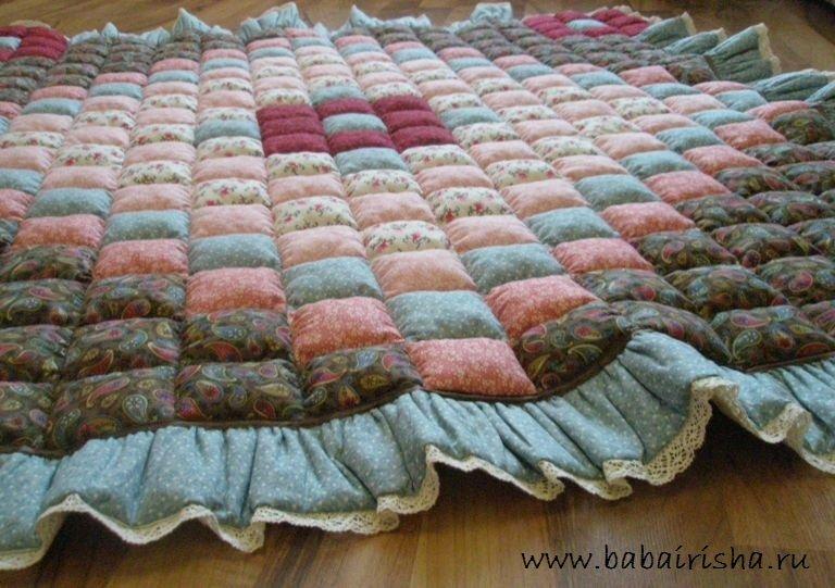 Как сшить объемное одеяло мастер класс 98