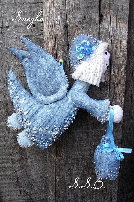 Текстильные ангелы своими руками