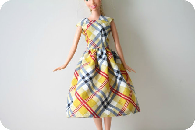 Сшить платье на барби