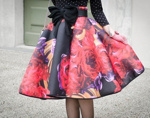 Как сшить пышную юбку для 83