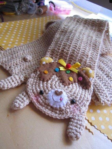 Как связать детский шарфик своими руками
