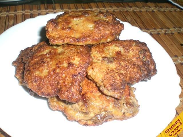 Котлеты из говяжьей печени рецепт с пошагово