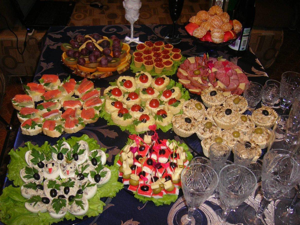 Что приготовить на свадебный стол в домашних  615