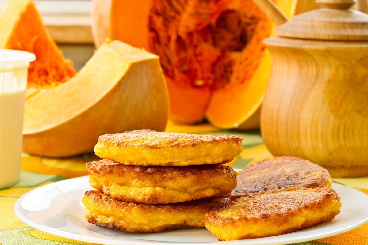 Оладья из тыквы и яблок рецепт пошагово