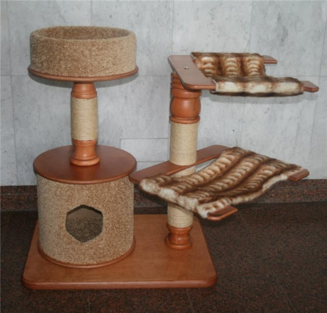 Дом когтеточка пошаговая инструкция