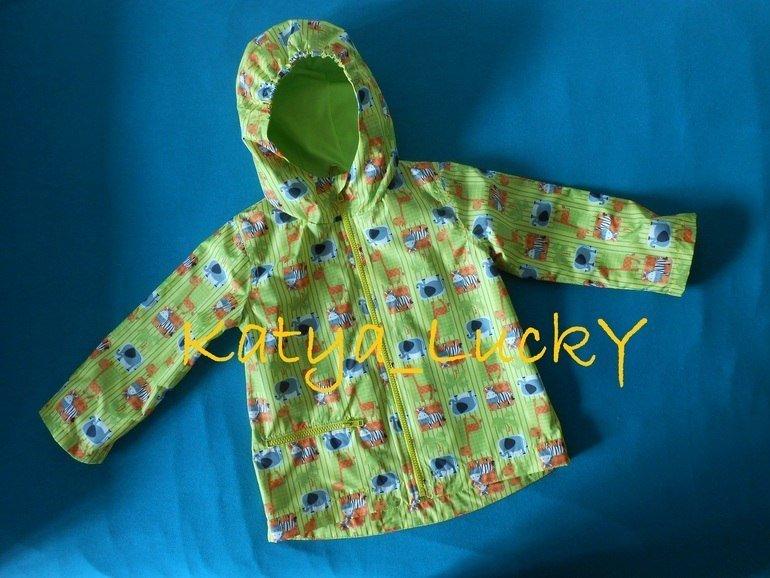 Сшить куртку для ребёнка 34