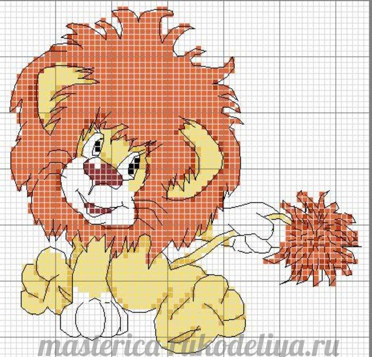 Схемы вышивки детских картинок 53