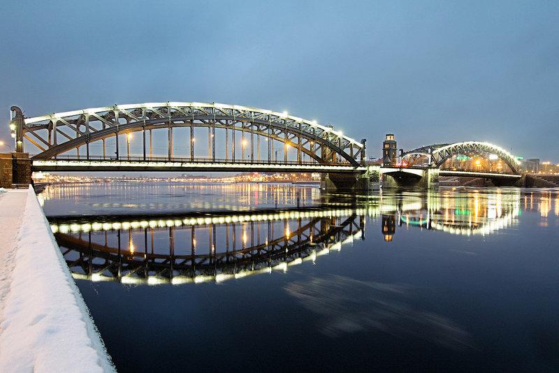 мосты спб в картинках