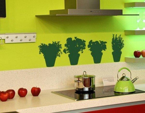 Декор на стены своими руками на кухне 64