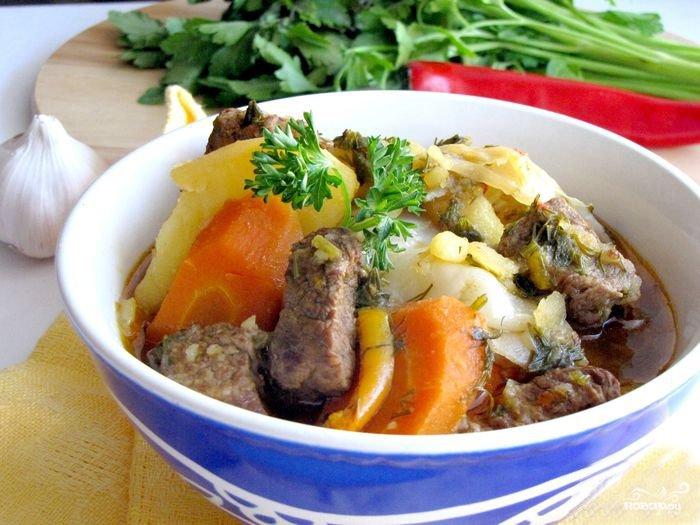 Димлама по-узбекски рецепт с фото в мультиварке