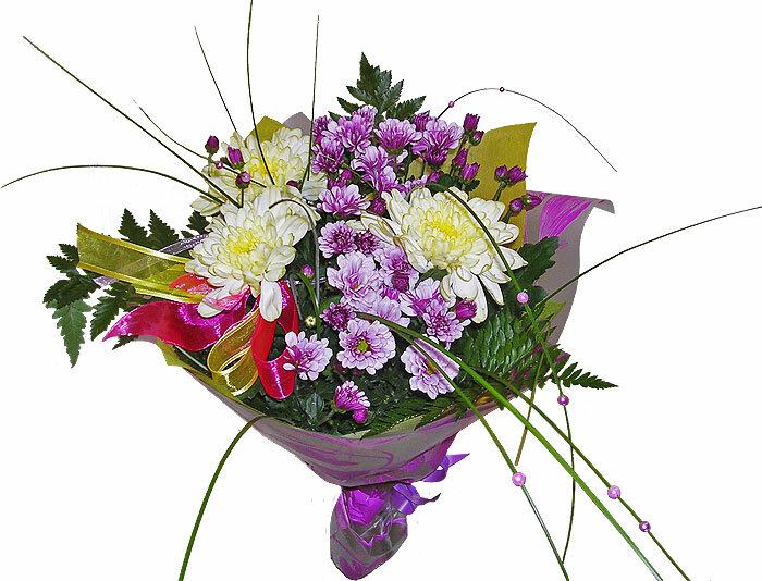 Букет пошагово из живых цветов на день рождения 138
