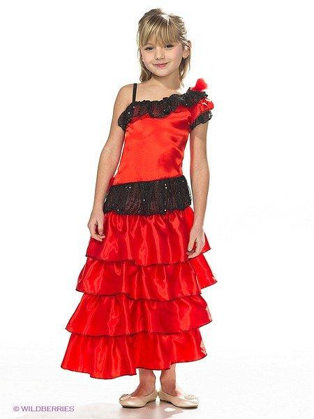 Испанский костюм своими руками для девочки