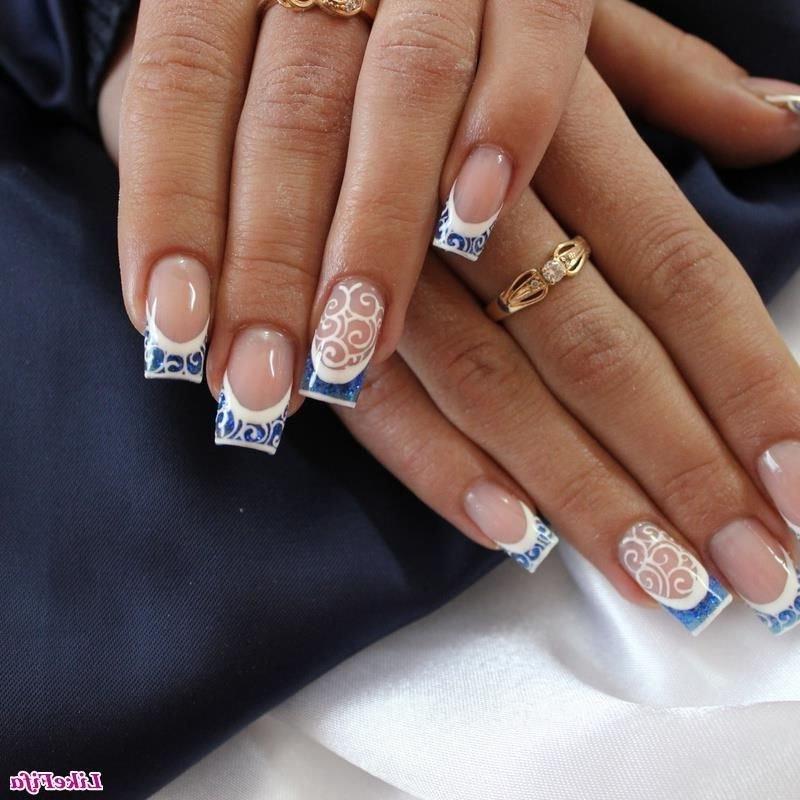 Дизайн нарощенных ногтей 2017 фото новинки френч