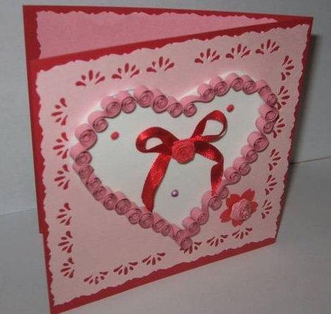 День святого валентина как сделать открытку 30