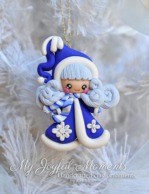 Снегурочка своими руками из глины 72