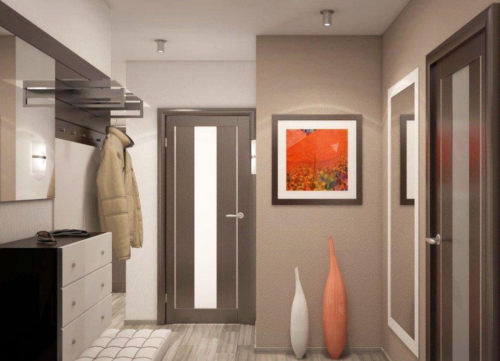 Как сделать прихожую в маленьком коридоре 989