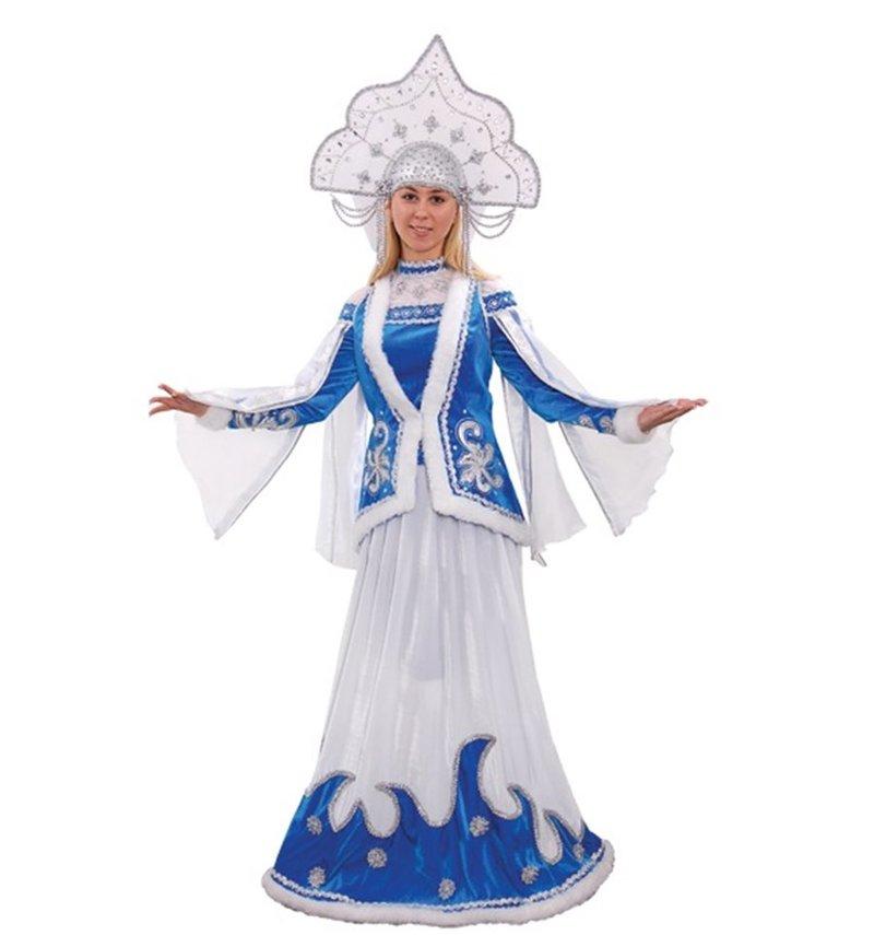 Карнавальные костюмы снегурочки своими руками