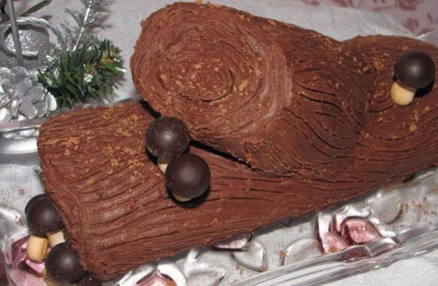Торт полено в домашних условиях 188