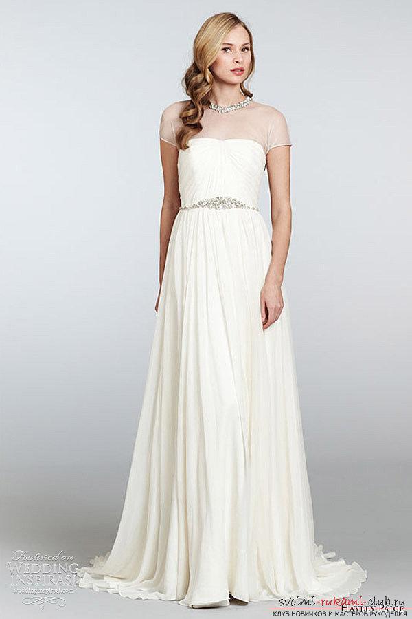 Свадебная платье простое сшить 187