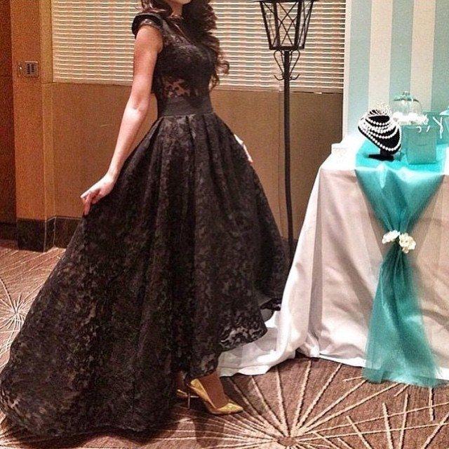 Фото коротких вечерних платьев и длинных