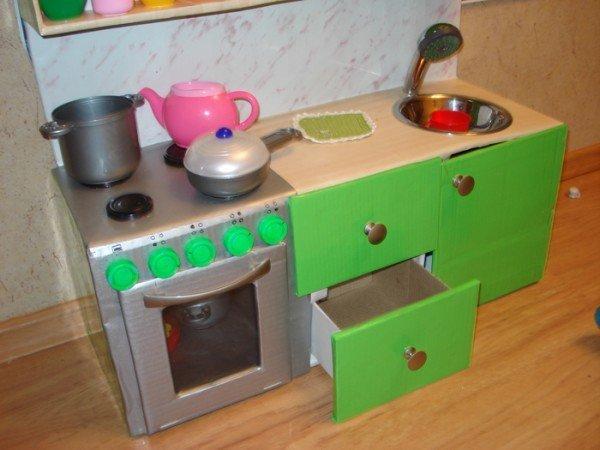 Как сделать кухонный гарнитур для куклы