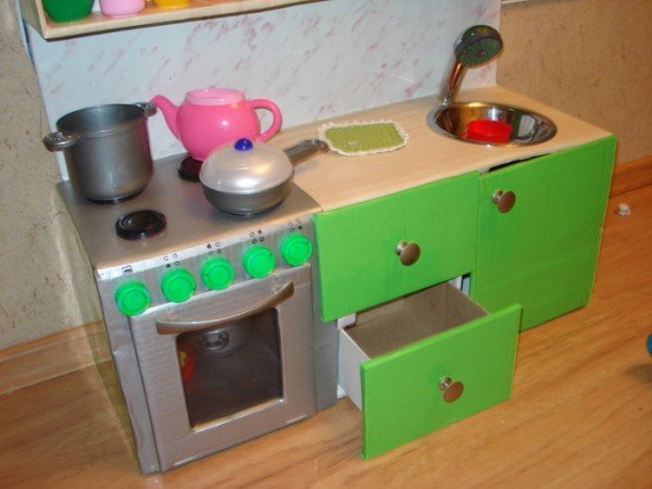 Плита для куклы своими руками 36