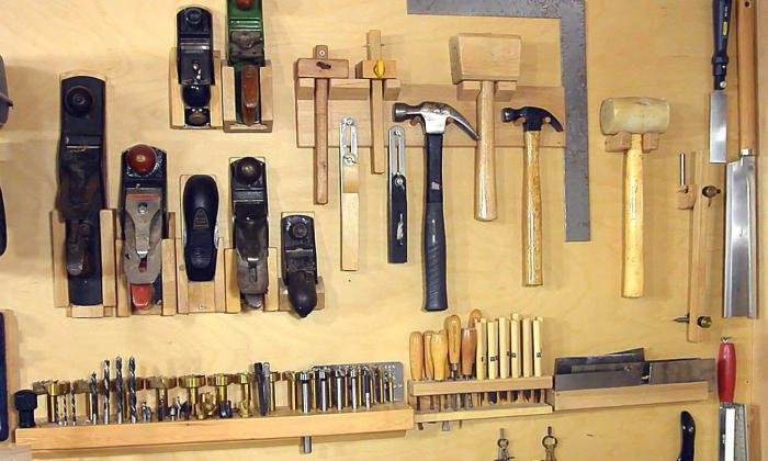 Доска инструментов своими руками 7
