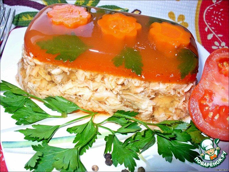 Заливное из колбасы с желатином рецепт пошагово 72