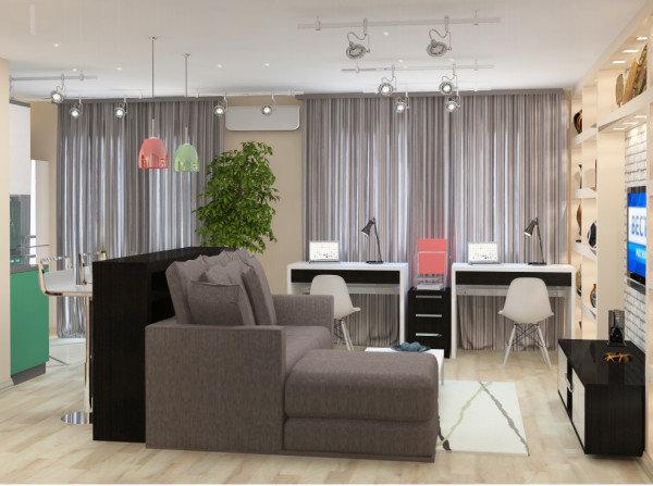 36 м квартира дизайн