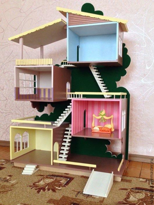 Построить кукольный домик из фанеры своими руками