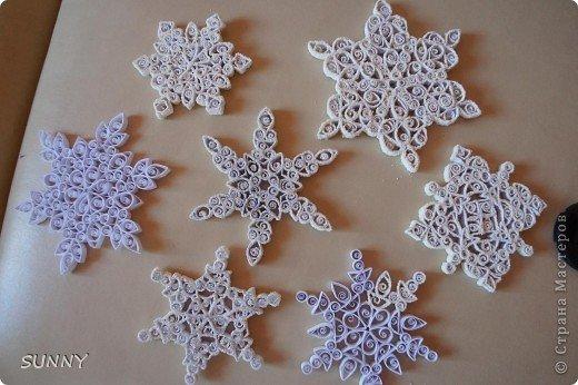 Как сделать снежинки своими руками мастер класс