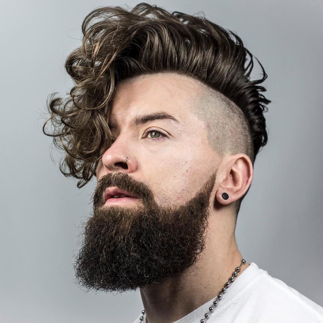 Мужская прическа для жесткие и кудрявые волосы