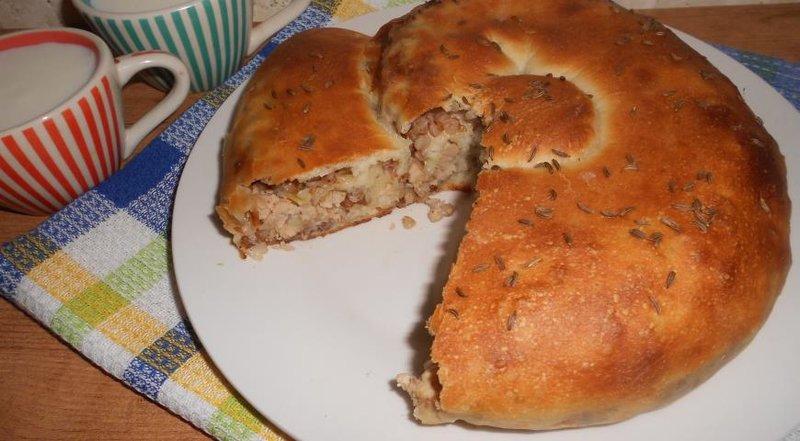 Мясной пирог рецепт пошагово в домашних условиях