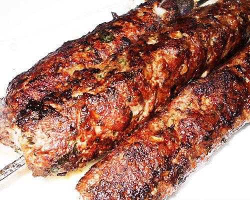 Блюда из фарша на мангале с фото