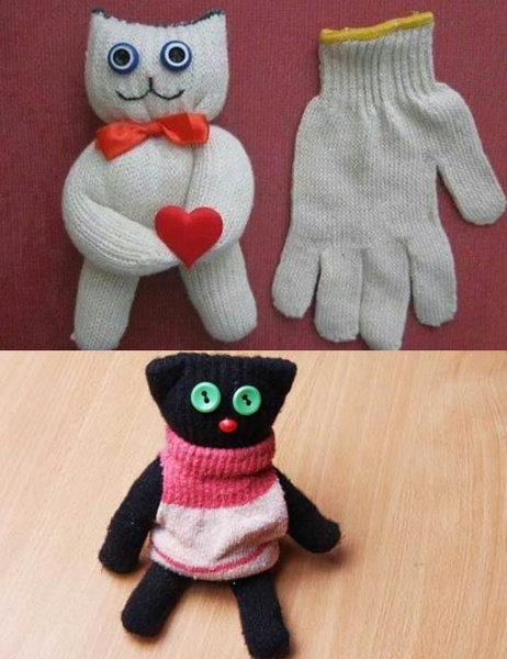 Животные из перчаток своими руками 75