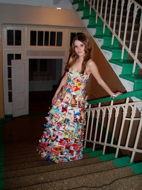 Как сделать платья в домашних условиях
