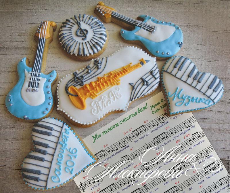 Имбирное печенье инструменты