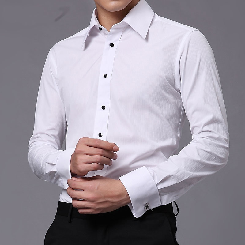 Рубашки под запонки - признак высокого класса и стиля. Как их правильно носить и выбирать? Какие цвета будут выглядеть особенно
