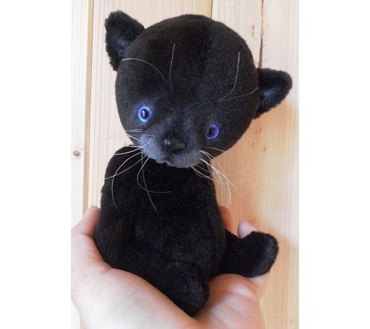 Чёрный кот своими руками 85