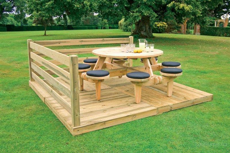 Мебель для отдыха на природе своими руками 37
