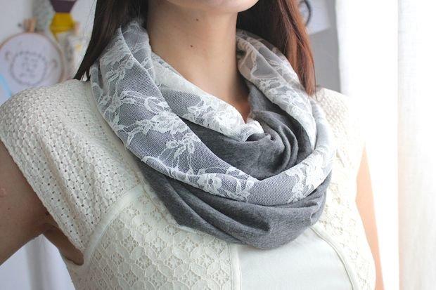 Что такое шарф снуд сшитый 530