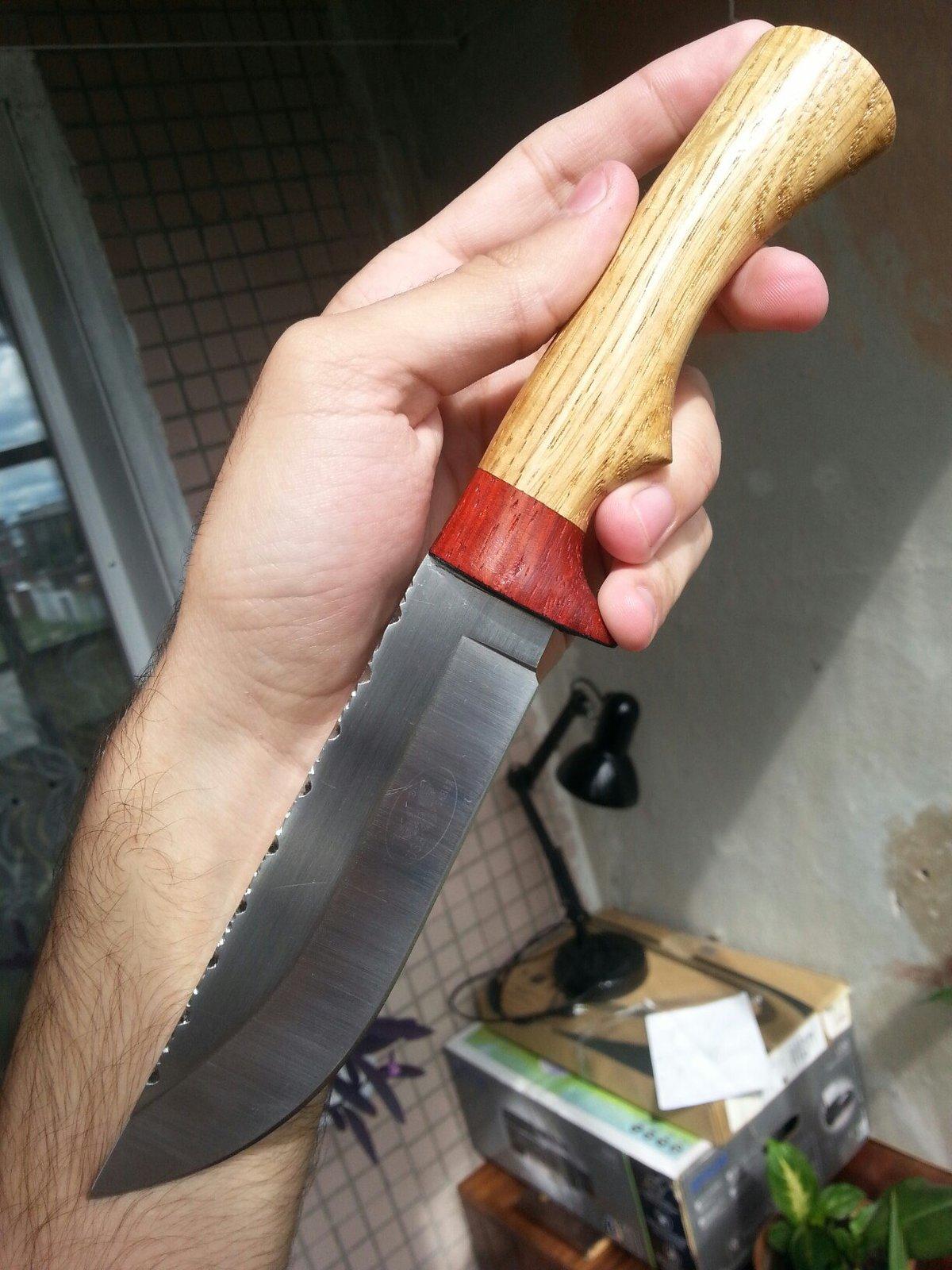 Изготовление рукоятки для ножей своими руками из дерева