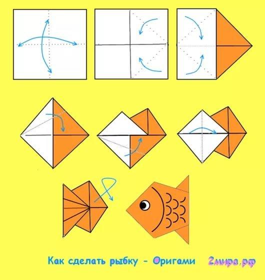 Картинки поделки из бумаги по схеме 188
